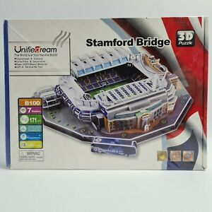 Unified Dream Football Stamford Bridge 3D Jigsaw Puzzle 171 pieces SEALED NEW