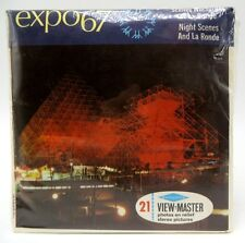 View-Master A074, Expo 67 Night Scenes And La Ronde, 3 Reel Set, NEW / SEALED