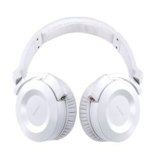 Onkyo ES-FC300-W Over Ear DJ Head phones With Detachable Connectors - White