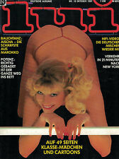 Lui 10/1981 Oktober, Odile Michel, Barbara Sukova, Ornella Muti,..