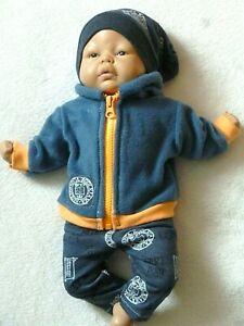 Puppenkleidung/ Junge 3 tlg.- Re born - Baby - Sammler -Puppen 43cm-NEU