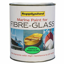 SUPPLYSHED Marine Boat Gloss EMERALD GREEN Paint for Fibreglass and GRP 750ml