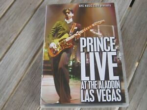 dvd .prince. live at the aladdin las vegas.