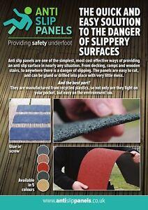 Anti Slip Timber Decking Strips-Non Slip Grip for Ramps, Steps, Floors 1220x85mm
