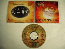 IRON AGE  Concussion Of The Brain  CD