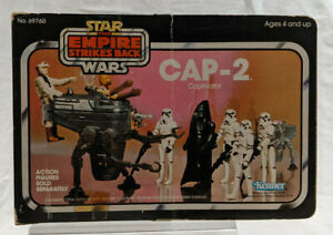 Star Wars Return of the Jedi Mini-Rig CAP-2 Captivator Vehicle - Vintage