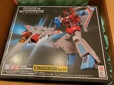 Transformers Masterpiece Action Figures MP-52 Starscream Version 2.0