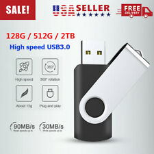 Mini USB 3.0 Flash Drive Memory Stick Pen Pendrive Thumb Drive 128GB 512GB 2TB