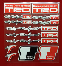 Decal Sticker Racing Development Trd Badge Emblem