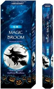 GR Incense Magic Broom 120-Sticks Free Shipping
