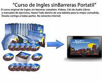 INGLES SIN BARRERAS ORIGINAL SET COMPLETO DENTRO DE UNATABLETA