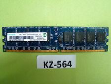 1GB Ramaxel RAM PC2-5300U CL5 2RX8 rml1320eg38d7w-667 #kz-564