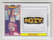 2016 Topps Heritage WWE All-Star Patches #3 Bayley /299