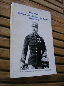 Jean Paloc : Souvenirs d'un directeur des douanes (1855-1904) Arcachon 1997