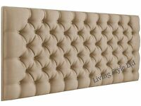 4ft6 Double,Stylish Colchester,Headboard in Fabric,Top Quality Bargain Price