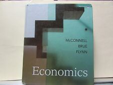 Economics Text Book by C. McConnell, S. Brue & S. Flynn, 18th Edition