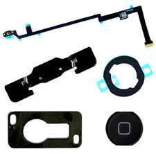 Black Home Button Camera Bracket Flex Cable Adhesive Replacement for iPad Air 5