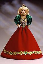 Porcelain HOLIDAY JEWEL Barbie Doll - MIB w/original Shipper - Retail $189