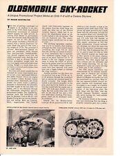 1964 OLDSMOBILE JETSTAR ROCKET V-8 W/CESSNA SKYLANE ~ ORIGINAL 3-PG ARTICLE / AD