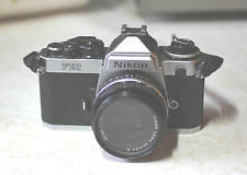 Nikon FE2 with lens, near mint cond.