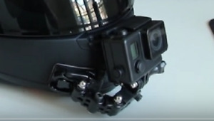 Genuine GoPro parts Helmet Front chin mount All GoPro cameras 1 - 9 and more