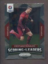 2016 Panini Prizm UEFA Soccer Scoring Leaders Cristiano Ronaldo Portugal