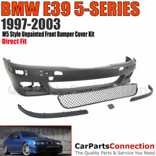 BMW E39 97-03 525i 530i 540i M5 Style PP Front Bumper Cover and Grille 4D Sedan