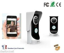 Interphone Visiophone Portier Wifi Caméra Smartphone Tablette Android Iphone