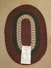 "Home Marker Country Braid 20"" x 30"" Cranberry Rug Item # 463246 (NEW)"