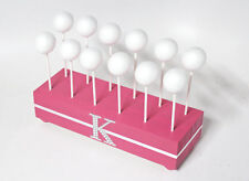 Pink Cake Pop Stand, Personalized, Hot Pink Cake Pop Holder, Cake Pop Stand,