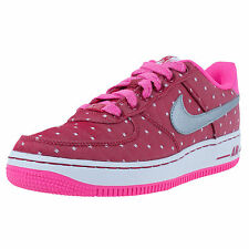 Nike AIR FORCE 1 Valentines Day GS Athletic Shoes 314219 Dk Red YOUTH SIZE 7Y