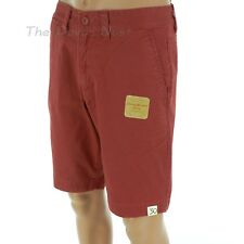 SONOMA Men's Size 30 FLAT FRONT Pottery RED SHORTS Faded Look VINTAGE WASHED
