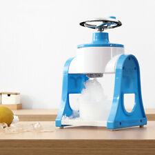 Portable Manual Hand Crank Ice Crusher Shavedampice Machine Snow Cone Makermachine