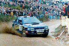 CARLOS SAINZ SUBARU IMPREZA 555 PORTUGAL RALLY 1994 fotografia 2