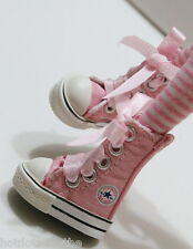 Custom Sneakers Shoes For Blythe/Pullip/Monster High/Lalaloopsy - SN213, Pink