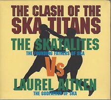 THE SKATALITES vs LAUREL AITKEN - CLASH OF... (sealed digi pak cd) - MOON DP 047