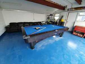 2nd Hand Ex Commercial 9FT SAM K-Steel American Pool Table By SAM Leisure