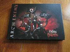 ARCH ENEMY Khaos Legions DELUXE EDITION + BONUS CD IN FLAMES NO LP