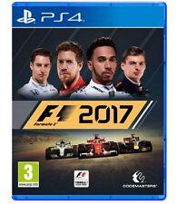 F1 2017 STANDARD EDITION PS4 VIDEOGIOCO FORMULA 1 PLAY STATION 4 ITALIANO 2018