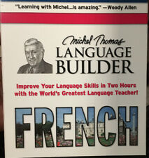 MICHEL THOMAS - Michel Thomas Language Builder French - 2 CD - **Excellent**