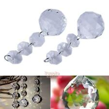 10pcs Acrylic Crystal Diamond Beads Garland Hang Chandelier Wedding Party Decor