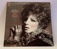 "Barbra Streisand What About Today? 12"" LP Vinyl Record Album Columbia CS 9816"