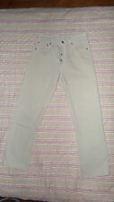 JEAN LEVIS STRAUSS 501 W29 L30 BEIGE MADE USA