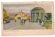 CPA TCHEQUIE - Die Franzensquelle - FRANZENSBAD. Erstes Moorbad der Welt Hervorr