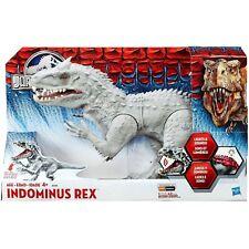 Rare Hasbro Jurassic World JW Indominus Rex Dinosaur Electronic Roar Light Up