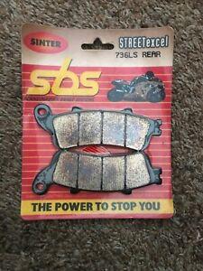 SBS LS Sintered Motorcycle Rear Brake Pads (736LS)