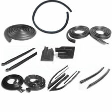 1966 1967 Chevelle Malibu Weatherstrip Seal Kit 14 Pieces 2 Door Hardtop