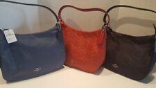Coach F73185 Signature Nylon Zip Top Hobo Purse shoulder bag  NWT True Red