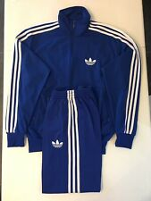 Adidas Originals ADI-Firebird Tracksuit Blue White Size M