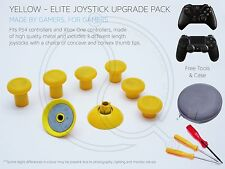 PS4 XBOX ONE Elite Jaune Joystick Upgrade Custom Concave Convexe Manette de télécommande mod